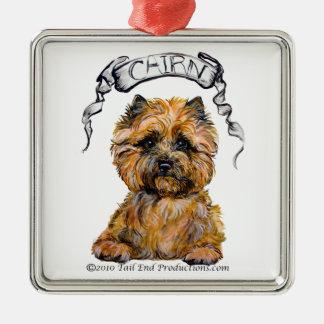 Cairn Terrier Portrait Ornament