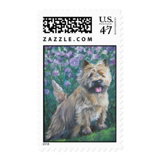 Cairn Terrier postage stamp