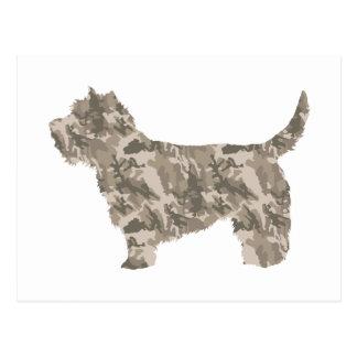 Cairn Terrier Postcard