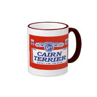 Cairn Terrier Ringer Mug