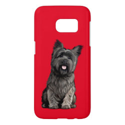 Case-Mate Barely There Samsung Galaxy S7 Case with Cairn Terrier Phone Cases design