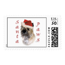 Cairn Terrier Santa Paws Postage
