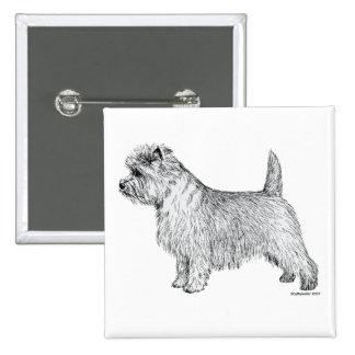 Cairn Terrier Side Buttons