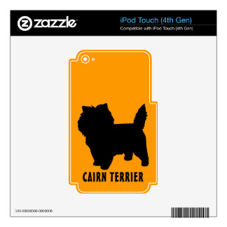 Cairn Terrier Skin For iPod Touch 4G