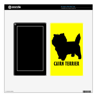 Cairn Terrier Skins For Kindle Fire