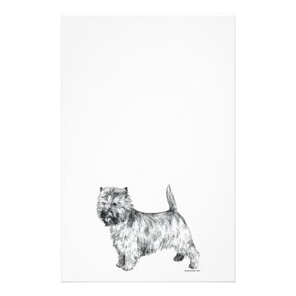 Cairn Terrier Stationery