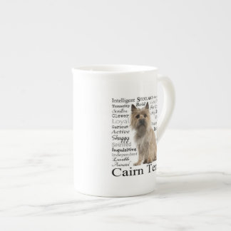 Cairn Terrier Traits Bone China Mug