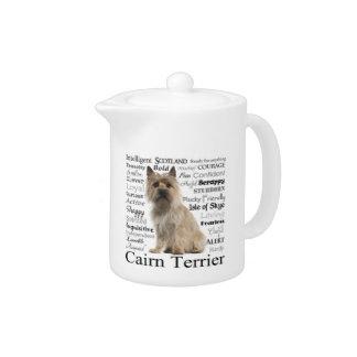 Cairn Terrier Traits Teapot