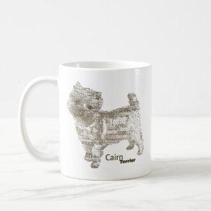 Cairn Terrier ---  - TypoDoggies Coffee Mug