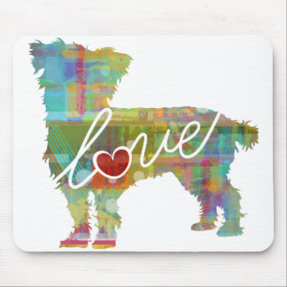 Cairn Terrier Watercolor Mouse Pad