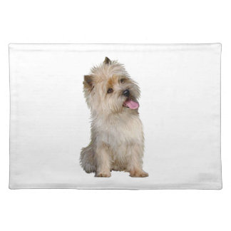 Cairn Terrier (Wheaten) - looking to the side Placemat