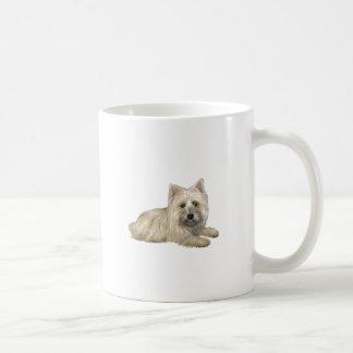 Cairn Terrier (Wheaten) - lying down Coffee Mug