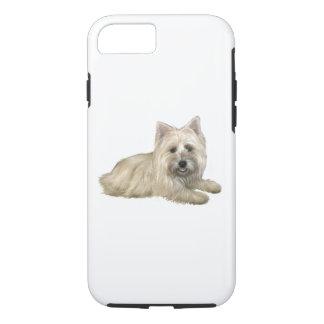 Cairn Terrier (Wheaten) - lying down iPhone 7 Case