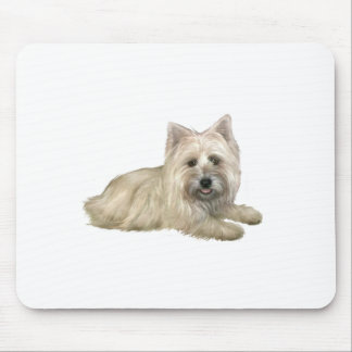 Cairn Terrier (Wheaten) - lying down Mouse Pad