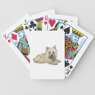 Cairn Terrier (Wheaten) - lying down Bicycle Card Decks