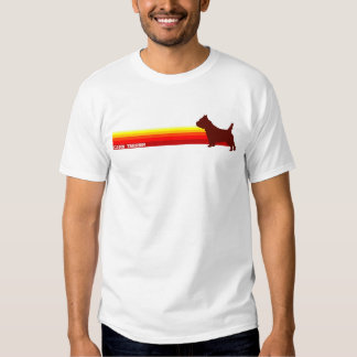 Cairn Terrier With Stripes T-Shirt