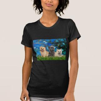 Cairn Terriers 4-13-21 - Lilies 3 Tshirt