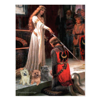 Cairn Terriers (Three) - The Accolade Postcard