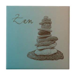 Cairn Zen Small Square Tile