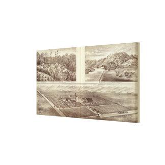 Cairnes ranch canvas print