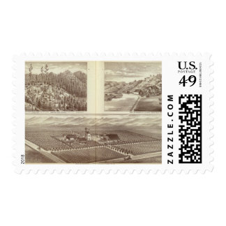 Cairnes ranch postage