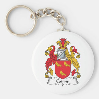 Cairns Family Crest Key Chains