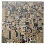 Cairo Cityscape Large Square Tile
