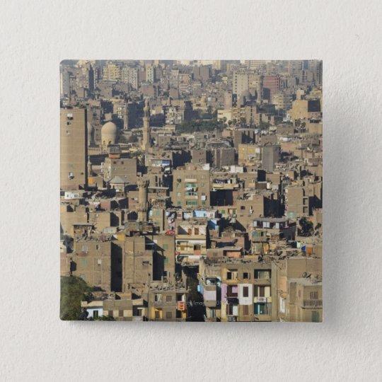 Cairo Cityscape Pinback Button
