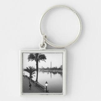 Cairo Egypt, Along the Nile River Keychain