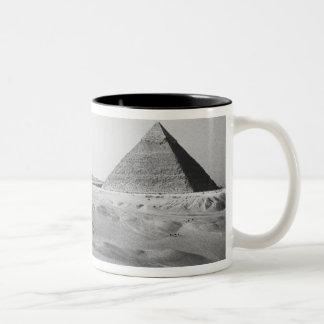 Cairo Egypt Giza Pyramids Mug