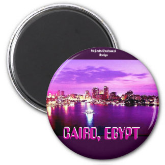 CAIRO, EGYPT 2 INCH ROUND MAGNET