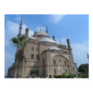 Cairo, Egypt- Mosque of Mohamed Ali at the Citadel Postcard