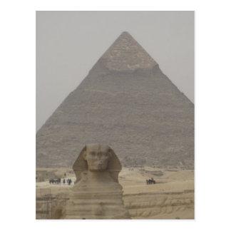 Cairo Egypt Pyramid/Sphynx Postcard