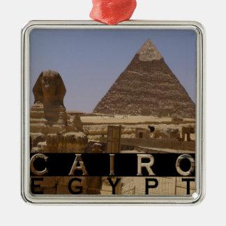 Cairo Egypt Souvenir Metal Ornament