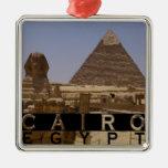 Cairo Egypt Souvenir Ornament