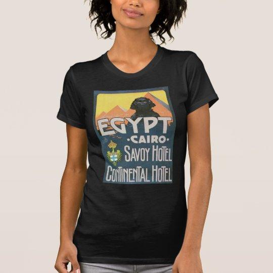 Cairo Egypt - Vintage travel poster art T-Shirt