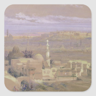 Cairo from the Gate of Citizenib, looking towards Square Sticker