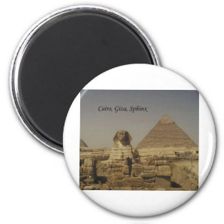 Cairo, Giza, The Sphinx (St.K.) Magnet