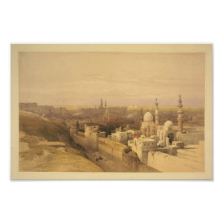Cairo Looking West Poster