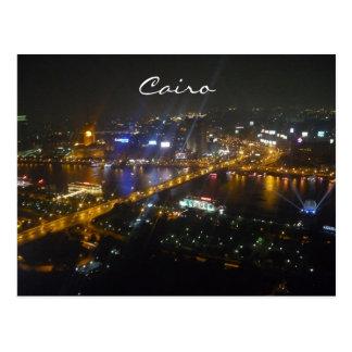 cairo night postcard