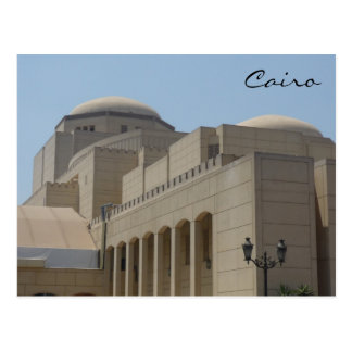 cairo opera house post card