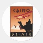 Cairo (St.K) Round Stickers