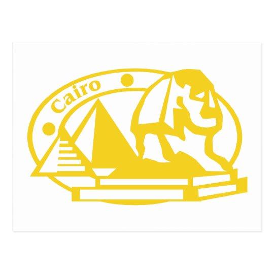 Cairo Stamp Postcard