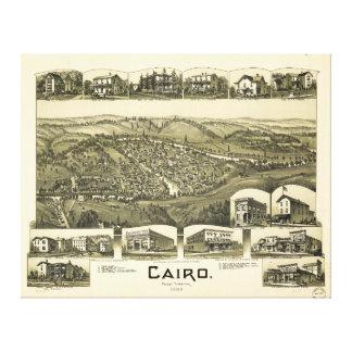 Cairo, West Virginia (1899) Canvas Print
