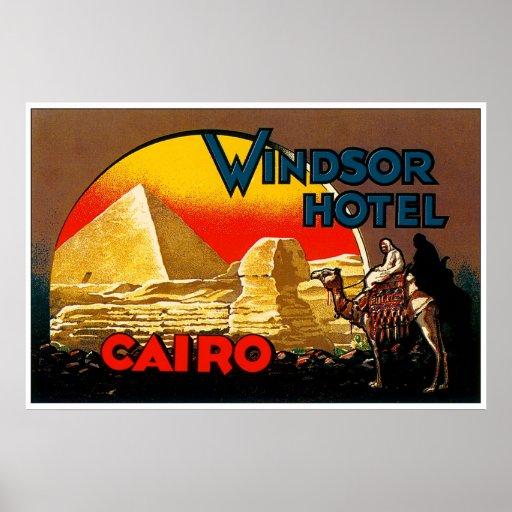 Cairo Windsor Hotel Poster