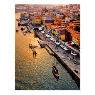 Cais da Ribeira Postcard