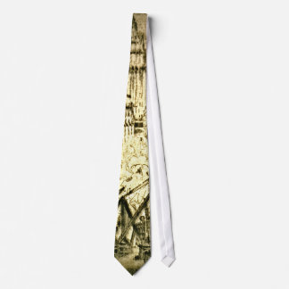 Caissons on Vesey Street 1924 2 Neck Tie