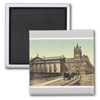 Caius College and Senate House Cambridge England Refrigerator Magnet