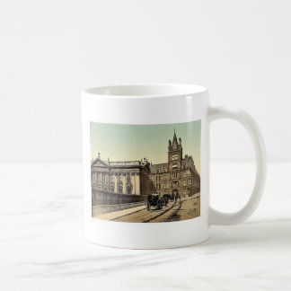 Caius College and Senate House Cambridge England Coffee Mugs