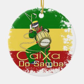 Caixa Batucada Samba Ceramic Ornament